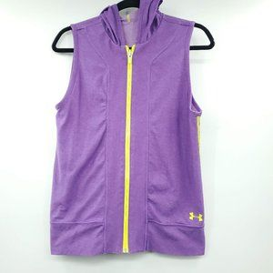 Under Armour Sleeveless Reversible Full Zip Hoodie